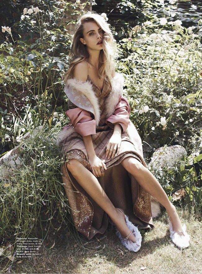 VOGUE AUSTRALIA- Cara Delevigne in Queen Cara by Benny Horne. Christine Centenera, October 2013, www.imageamplified.com, Image Amplified (6)