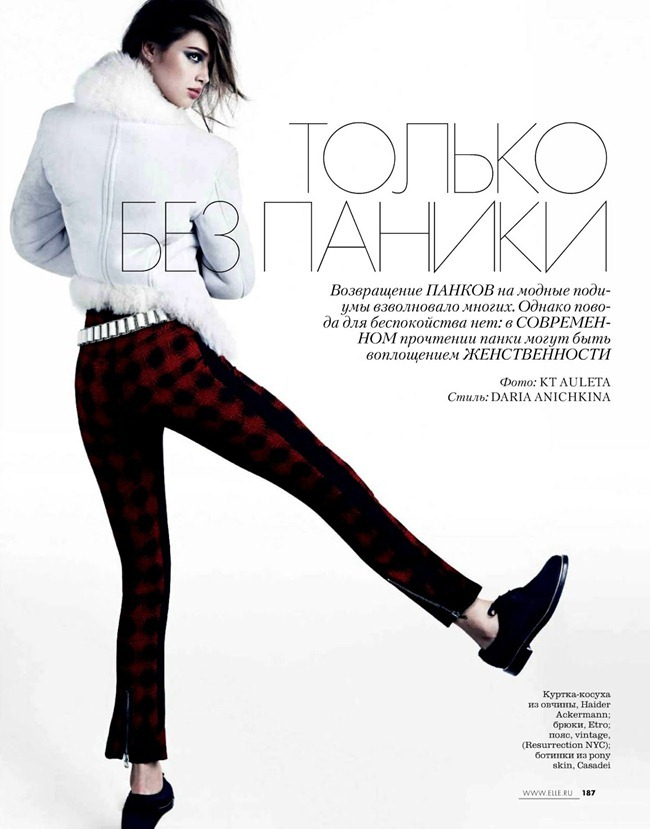 ELLE RUSSIA- Anais Pouliot in Without Panic by KT Auleta. Daria Anichkina, October 2013, www.imageamplified.com, Image Amplified (1)