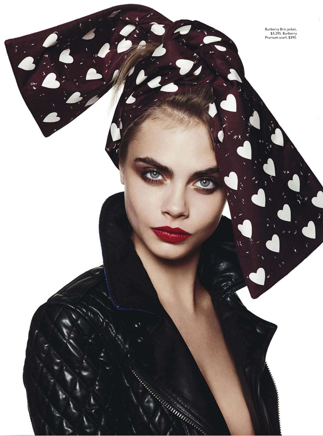 VOGUE AUSTRALIA- Cara Delevigne in Yeah, Baby, She's Got It by David Bailey. Christine Centenera, October 2013, www.imageamplified.com, Image Amplified (2)