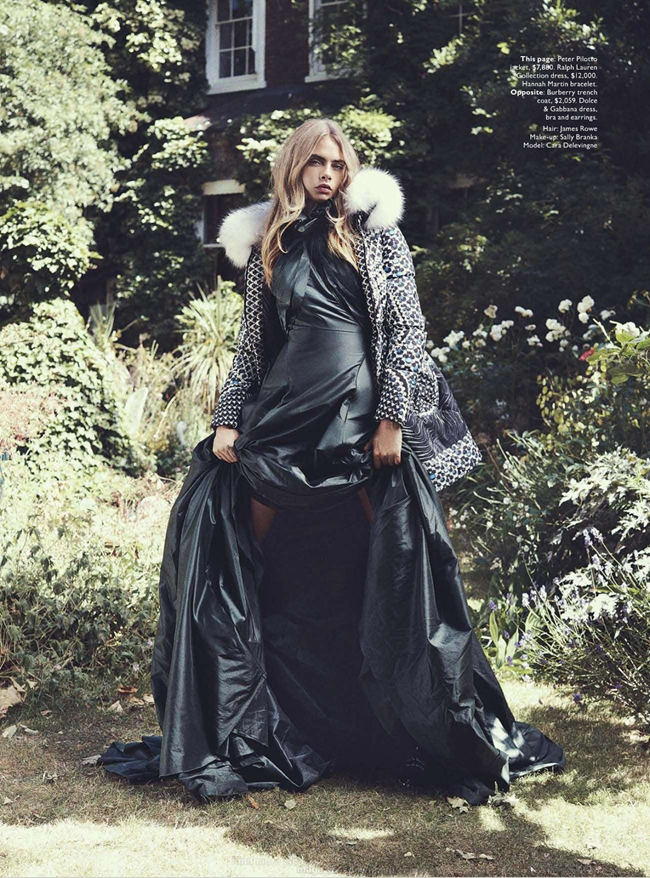 VOGUE AUSTRALIA- Cara Delevigne in Queen Cara by Benny Horne. Christine Centenera, October 2013, www.imageamplified.com, Image Amplified (7)