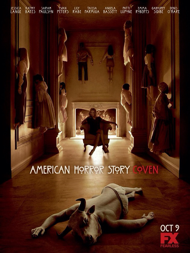 """New Coven """"School"""" trailer for American Horror Story featuring Jessica Lange, Kathy Bates, Taissa Farmiga and Angela Bassett. Image Amplified www.imageamplified.com"""