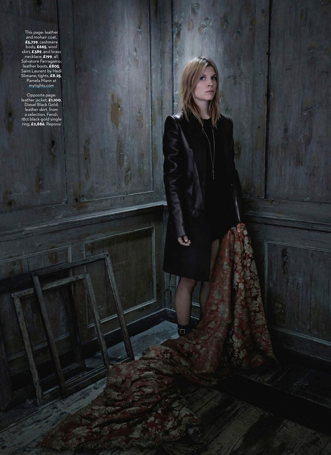 MARIE CLAIRE UK- Clemence Poesy in A Pocketful of Poesy by Steen Sundland. Birgitte Mahrt, October 2013, www.imageamplified.com, Image Amplified (4)