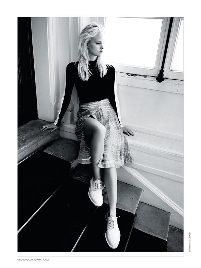 MISS VOGUE AUSTRALIA- Hannah Holman in L'ete A Paris by Darren Mcdonald. Kym Ellery, www.imageamplified.com, Image Amplified (8)