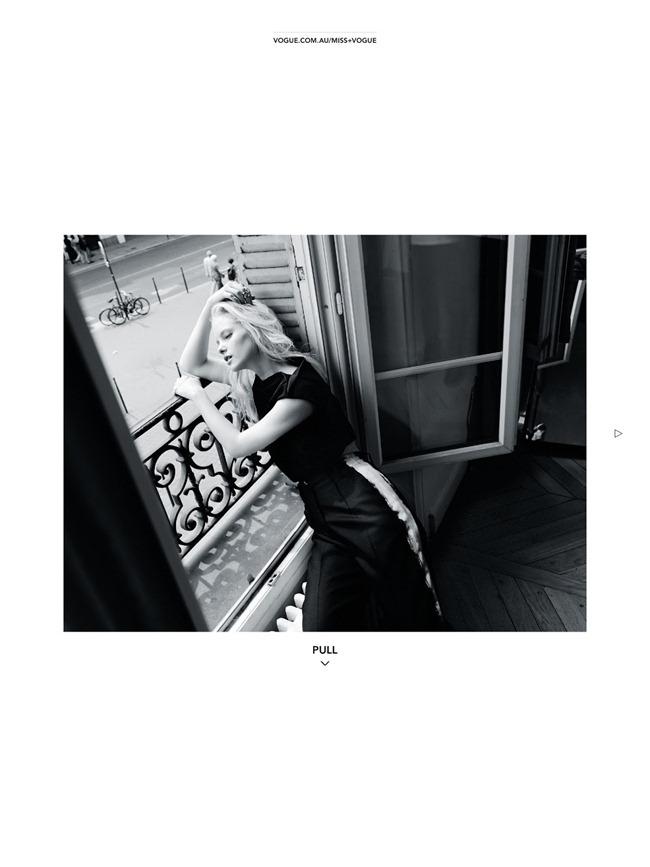 MISS VOGUE AUSTRALIA- Hannah Holman in L'ete A Paris by Darren Mcdonald. Kym Ellery, www.imageamplified.com, Image Amplified (1)