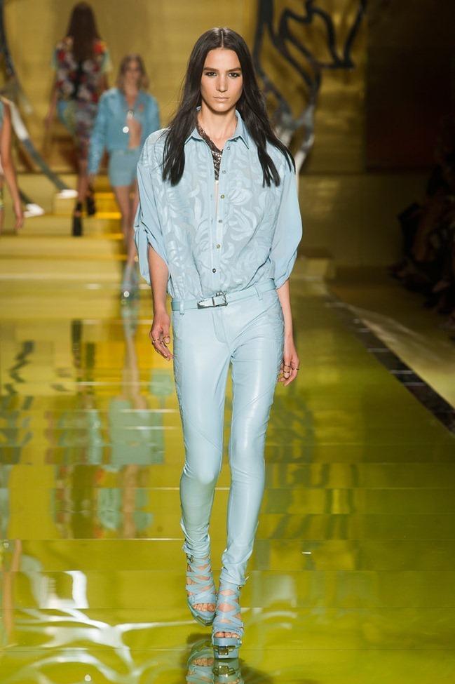 MILAN FASHION WEEK- Versace Spring 2014. www.imageamplified.com, Image Amplified (42)
