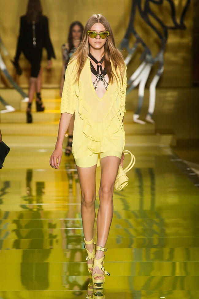 MILAN FASHION WEEK- Versace Spring 2014. www.imageamplified.com, Image Amplified (6)