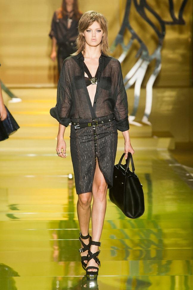 MILAN FASHION WEEK- Versace Spring 2014. www.imageamplified.com, Image Amplified (41)