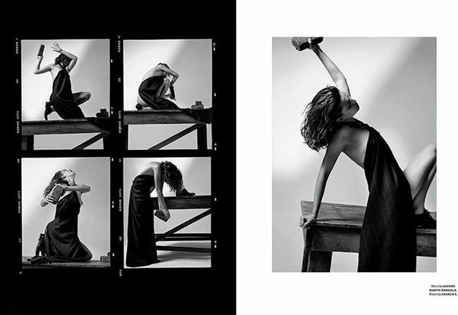 DOCUMENT MAGAZINE- Andreea Diaconu in Arte Povera by Collier Schorr. James Valeri, Fall 2013, www.imageamplified.com, Image amplified (2)