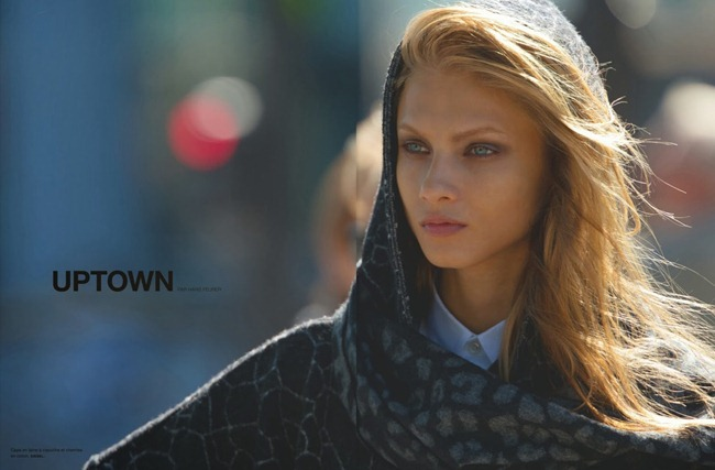NUMERO MAGAZINE- Anna Selezneva in Uptown by Hans Feurer. Spela Lenarcic, October 2013, www.imageamplified.com, Image Amplified