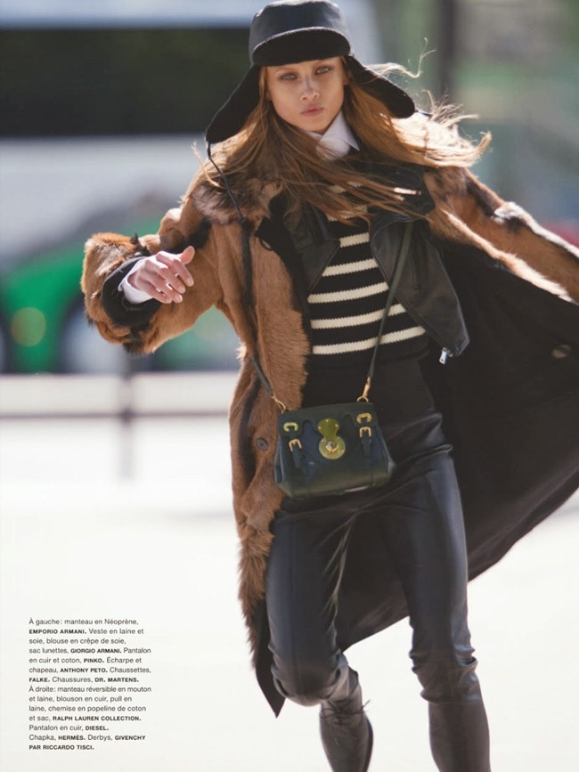 NUMERO MAGAZINE- Anna Selezneva in Uptown by Hans Feurer. Spela Lenarcic, October 2013, www.imageamplified.com, Image Amplified (2)