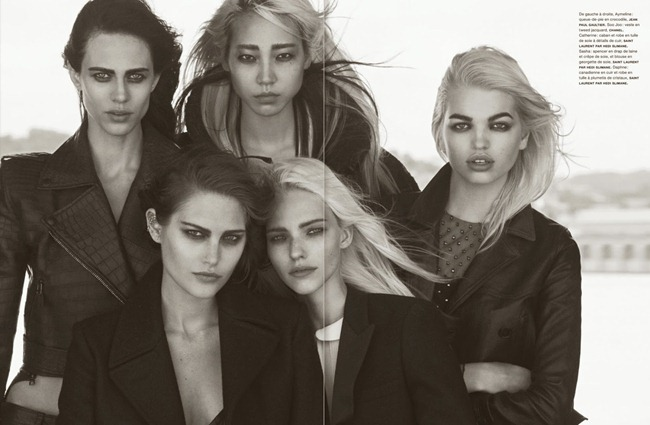 NUMERO MAGAZINE- The Famous Five by Peter Lindbergh. Irina Marie, October 2013, www.imageamplified.com, Image Amplified (6)