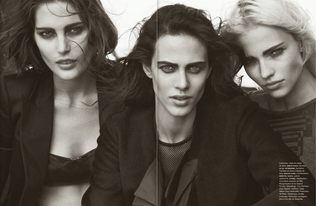 NUMERO MAGAZINE- The Famous Five by Peter Lindbergh. Irina Marie, October 2013, www.imageamplified.com, Image Amplified (12)