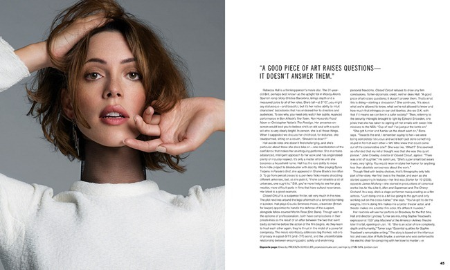 SCENE MAGAZINE- Rebecca Hall by An Le. Laura Jones, September 2013, www.imageamplified.com, Image amplified (3)