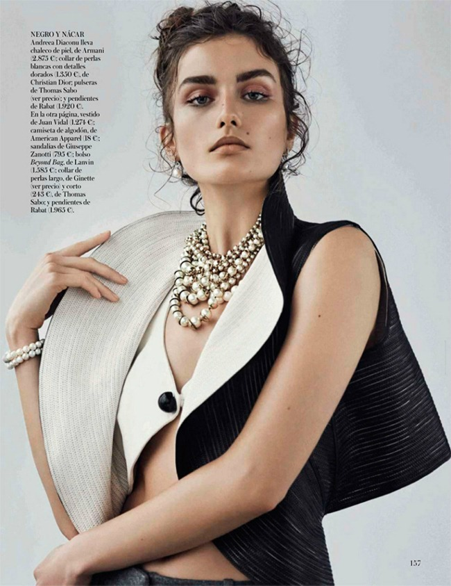VOGUE SPAIN- Andreea Diaconu in Ladies & Gentlemen by Mariano Vivanco. Belen Antolin, October 2013, www.imageamplified.com, Image Amplified (11)