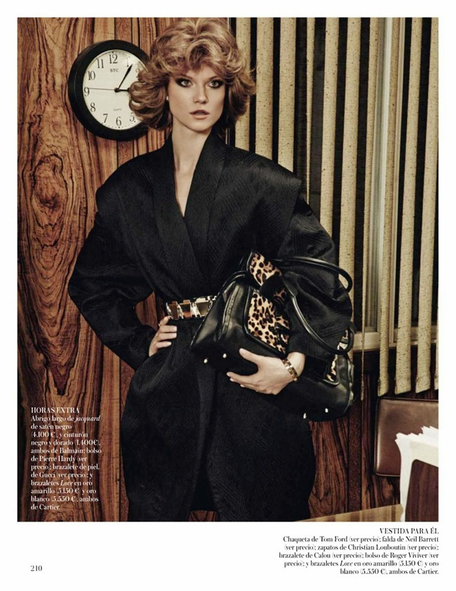 VOGUE SPAIN- Kasia Struss in Son Solo Negocios by Giampaolo Sgura. Claudia Englmann, October 2013, www.imageamplified.com, Image Amplified (11)