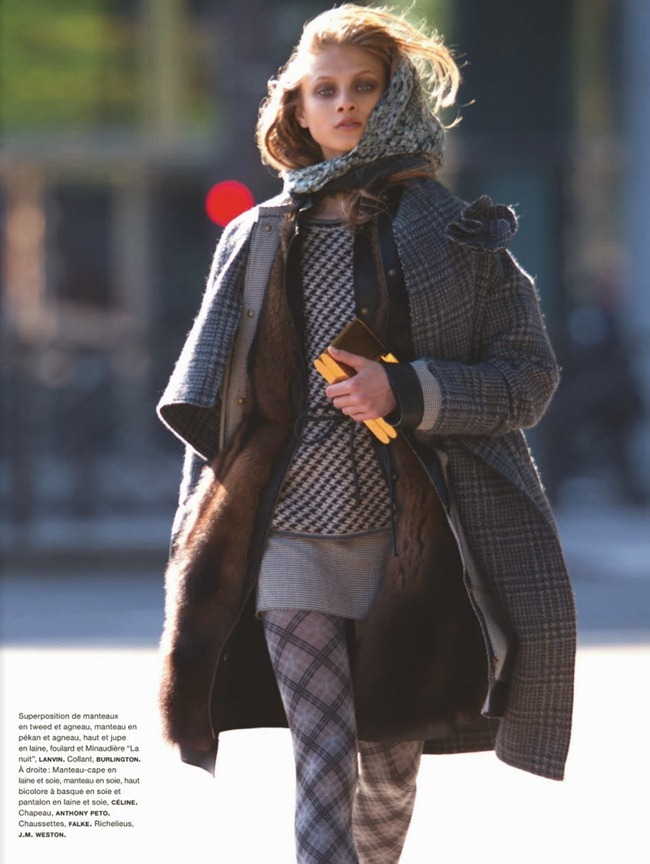 NUMERO MAGAZINE- Anna Selezneva in Uptown by Hans Feurer. Spela Lenarcic, October 2013, www.imageamplified.com, Image Amplified (3)
