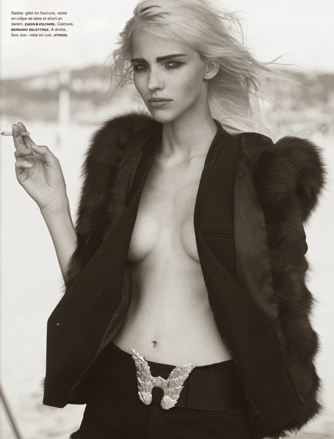 NUMERO MAGAZINE- The Famous Five by Peter Lindbergh. Irina Marie, October 2013, www.imageamplified.com, Image Amplified (10)