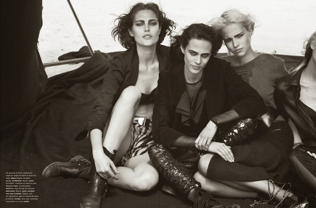 NUMERO MAGAZINE- The Famous Five by Peter Lindbergh. Irina Marie, October 2013, www.imageamplified.com, Image Amplified (3)