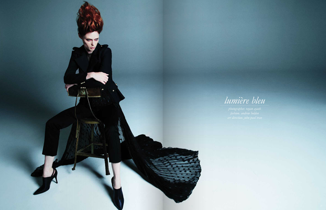 SCHON MAGAZINE- Coco Rocha by Rayan Ayash, September 2013, www.imageamplified.com, Image Amplified