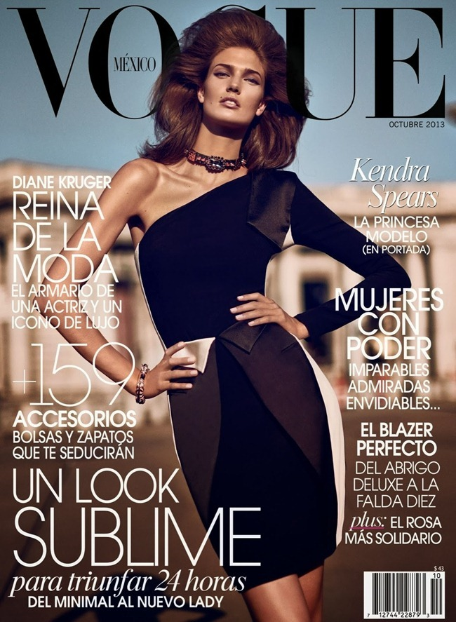 VOGUE MEXICO- Kendra Spears by Koray Birand. Sarah Gore Reeves, October 2013, www.imageamplified.com, Image Amplified