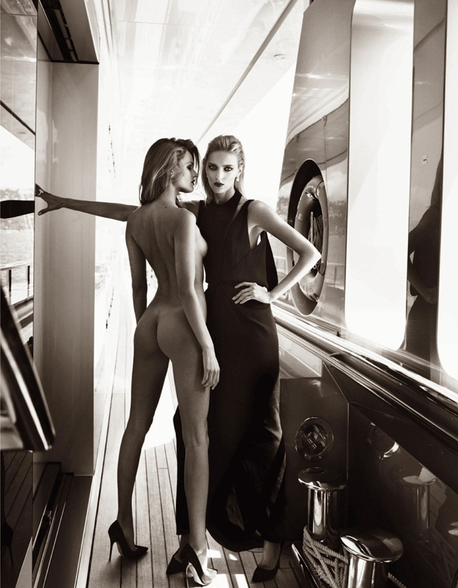 VOGUE PARIS- Anja Rubik & Edita Vilkeviciute in French Riviera by Mario Testino. Emmanuelle Alt, October 2013, www.imageamplified.com, Image Amplified (8)