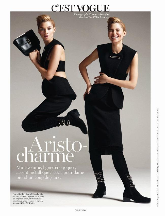VOGUE PARIS- Hana Jirickova in C'Est Vogue by Cuneyt Akeroglu. Celia Azoulay, October 2013, www.imageamplified.com, Image Amplified (2)