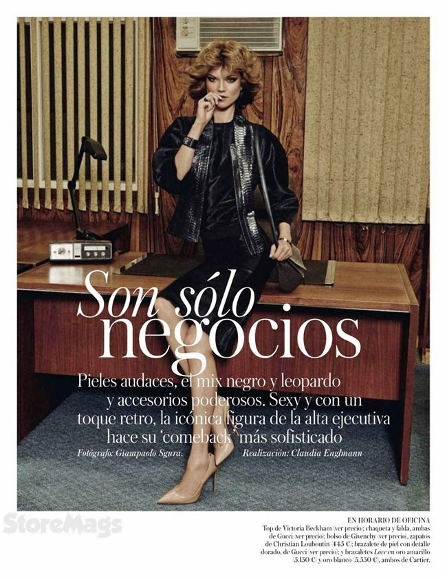 VOGUE SPAIN- Kasia Struss in Son Solo Negocios by Giampaolo Sgura. Claudia Englmann, October 2013, www.imageamplified.com, Image Amplified (1)