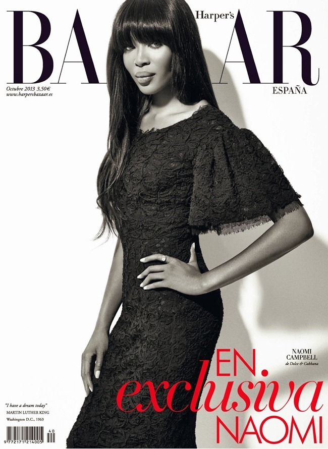 HAPER'S BAZAAR SPAIN- Naomi Campbell by Xevi Muntane. Juan Cebrian, October 2013, www.imageamplified.com, Image Amplified