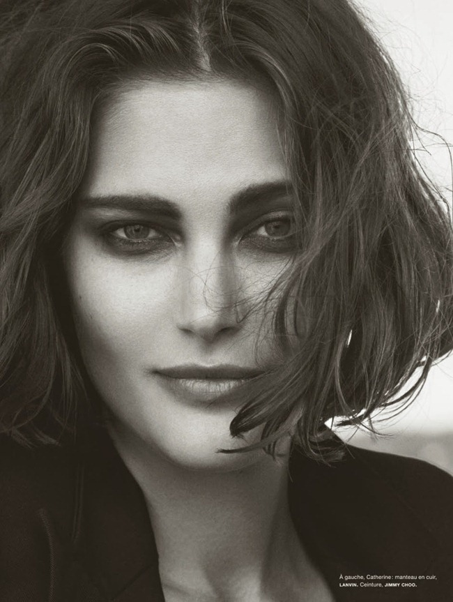 NUMERO MAGAZINE- The Famous Five by Peter Lindbergh. Irina Marie, October 2013, www.imageamplified.com, Image Amplified (2)