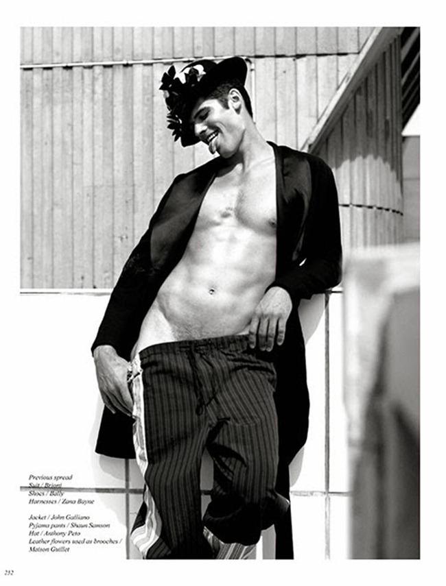 SCHON! MAGAZINE- Brian Shimansky in Made to Pleasure by Steeven Beckouet. www.imageamplified.com, Image Amplified (2)
