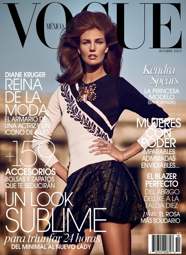 VOGUE MEXICO- Kendra Spears by Koray Birand. Sarah Gore Reeves, October 2013, www.imageamplified.com, Image Amplified (1)