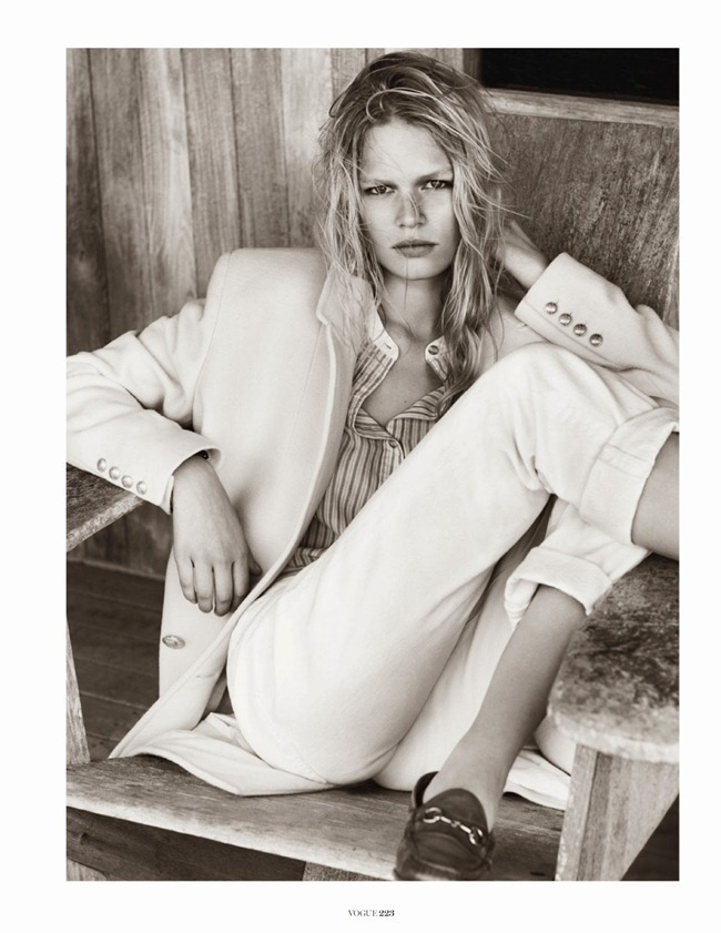 VOGUE PARIS- Anna Luisa Ewers in Hamptons by Josh Olins. Geraldine Saglio, October 2013, www.imageamplified.com, Image Amplified (2)