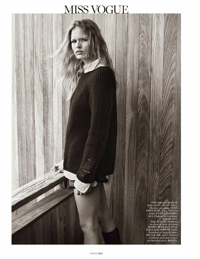 VOGUE PARIS- Anna Luisa Ewers in Hamptons by Josh Olins. Geraldine Saglio, October 2013, www.imageamplified.com, Image Amplified (3)
