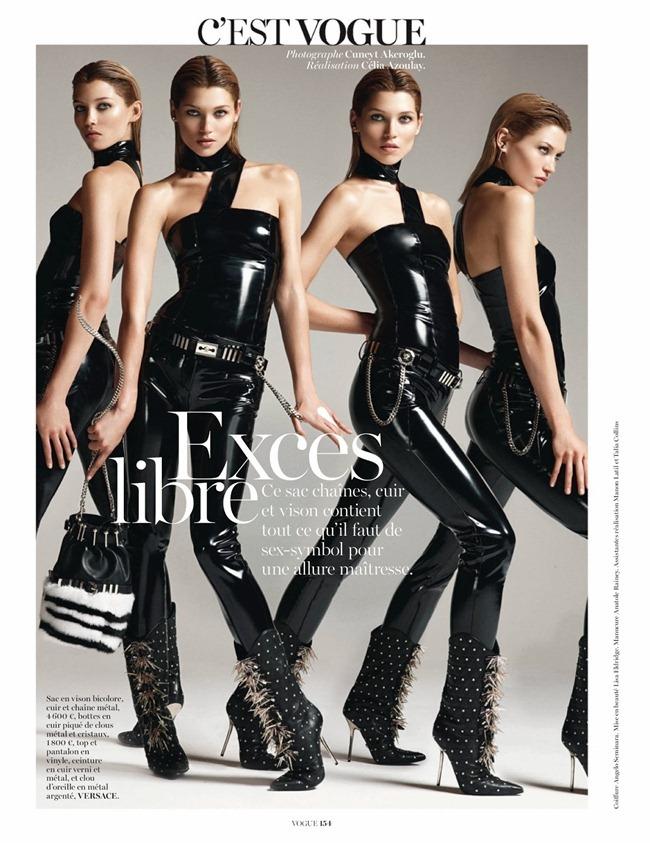 VOGUE PARIS- Hana Jirickova in C'Est Vogue by Cuneyt Akeroglu. Celia Azoulay, October 2013, www.imageamplified.com, Image Amplified (4)