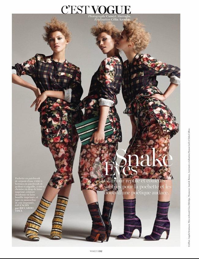 VOGUE PARIS- Hana Jirickova in C'Est Vogue by Cuneyt Akeroglu. Celia Azoulay, October 2013, www.imageamplified.com, Image Amplified (3)