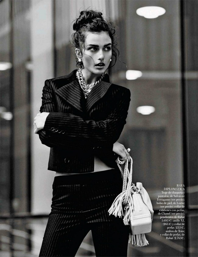 VOGUE SPAIN- Andreea Diaconu in Ladies & Gentlemen by Mariano Vivanco. Belen Antolin, October 2013, www.imageamplified.com, Image Amplified (10)