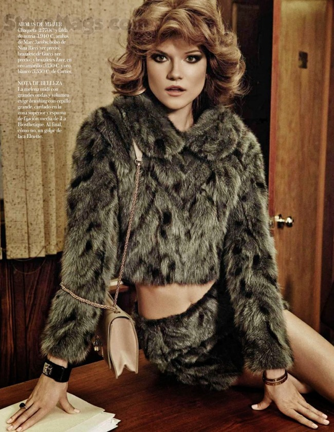 VOGUE SPAIN- Kasia Struss in Son Solo Negocios by Giampaolo Sgura. Claudia Englmann, October 2013, www.imageamplified.com, Image Amplified (8)
