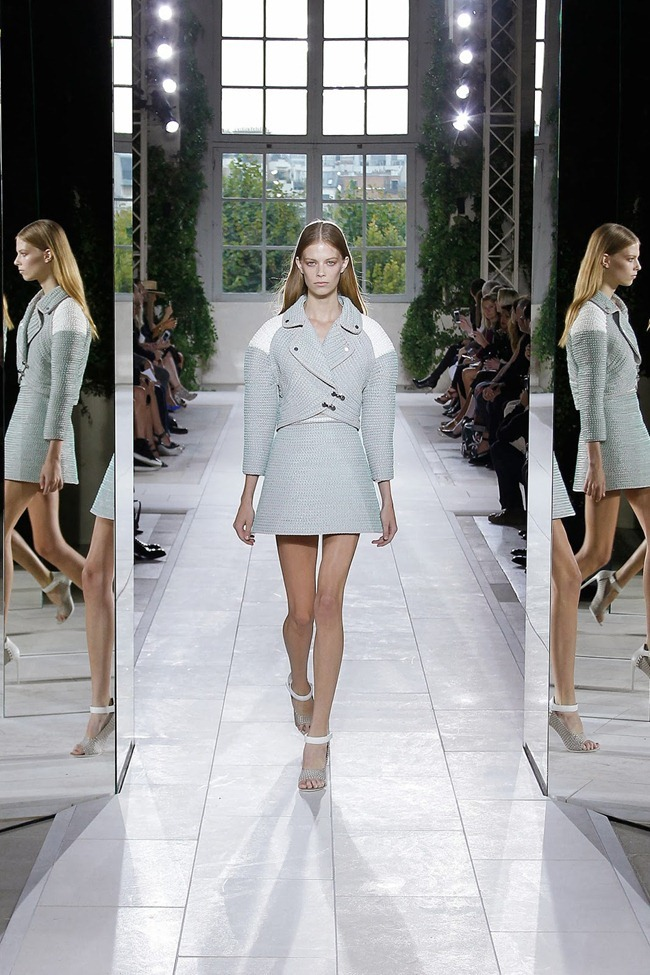 PARIS FASHION WEEK- Balenciaga Spring 2014. www.imageamplified.com, Image Amplified