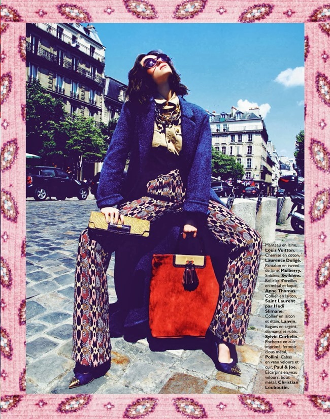 GRAZIA FRANCE- Claire Collins in Happy Flashy Funky Accessoires by Richard Bernardin. Alexandera Bernard, September 2013, www.imageamplified.com, Image Amplified (13)