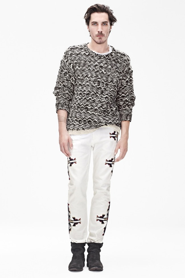 LOOKBOOK- Clement Chabernaud for Isabel Marant & H&M Menswear Collaboration 2013, www.imageamplified.com, Image Amplified
