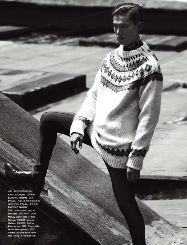 NUMERO HOMME CHINA- Dae Na by Bruno Staub. Jean Michel Clerc, Fall 2013, www.imageamplified.com, Image Amplified (8)