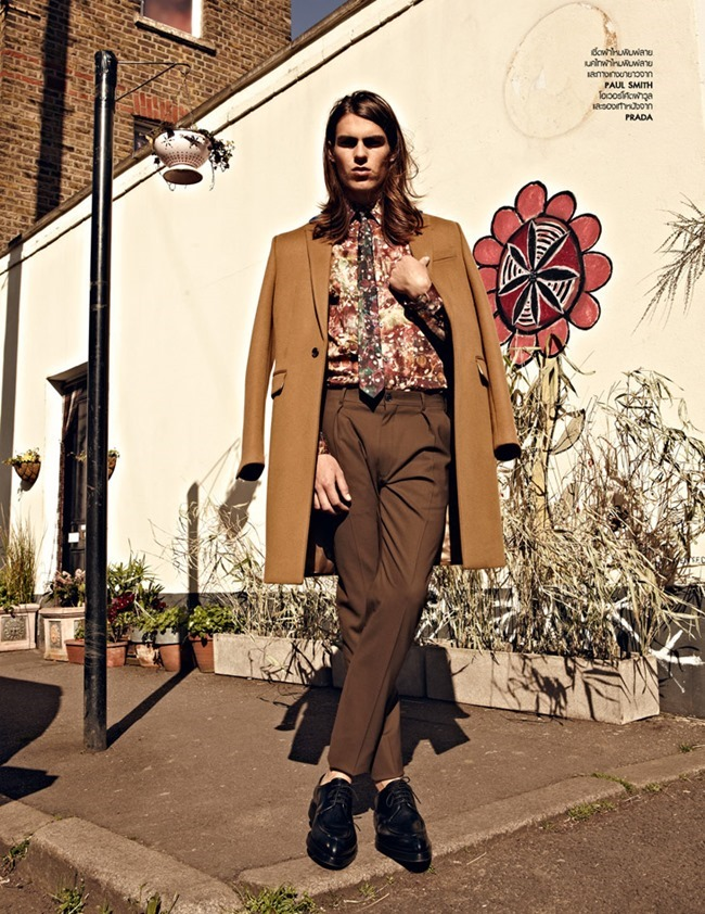 L'OFFICIEL HOMMES THAILAND- Travis Smith in Boys Keep Swinging by Arseto Adiputra. Pop Kampol, Fall 2013, www.imageamplified.com, Image Amplified