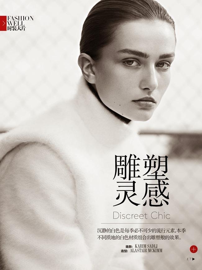 VOGUE CHINA- Andreea Diaconu in Discreet Chic by Karim Sadli. Alastair McKimm, October 2013, www.imageamplified.com, Image Amplified