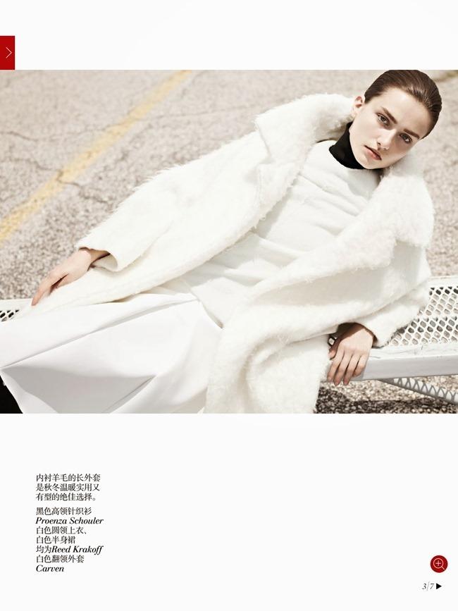 VOGUE CHINA- Andreea Diaconu in Discreet Chic by Karim Sadli. Alastair McKimm, October 2013, www.imageamplified.com, Image Amplified (2)