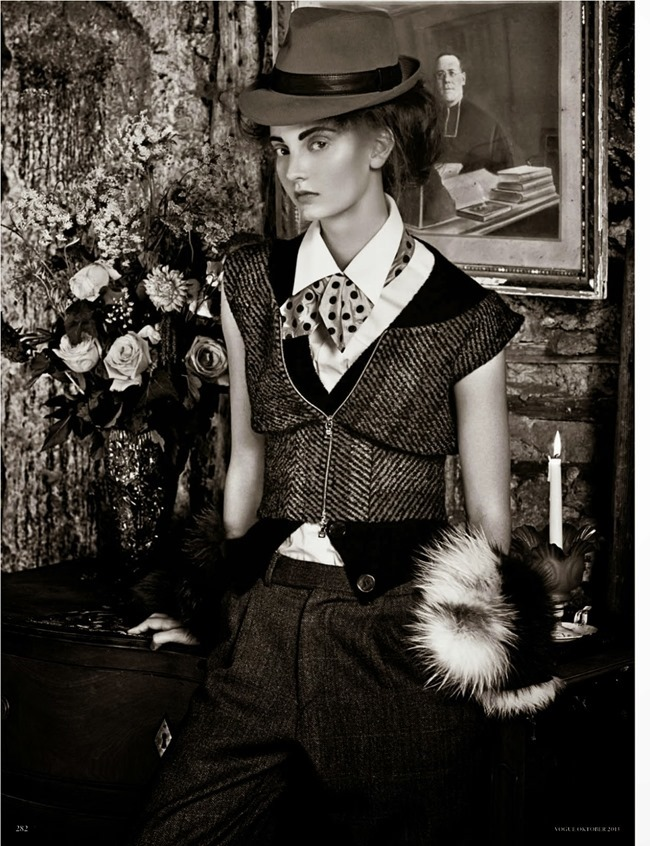 VOGUE GERMANY- Codie Young in Misia by Giampaolo Sgura. Chrisiane Arp, October 2013, www.imageamplified.com, Image Amplified (6)