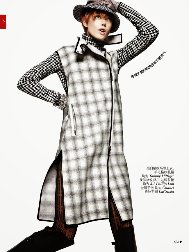 VOGUE CHINA- Frida Gustavsson in Check In by Greg Kadel. Bobette Cohn, October 2013, www.imageamplified.com, Image Amplified (4)