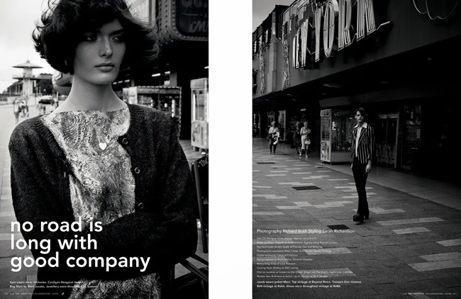 I-D MAGAZINE- Sam Rollinson in No Road is Long With Good Company by Richard Bush. Sarah Richardson, Fall 2013, www.imageamplified.com, Image Amplified