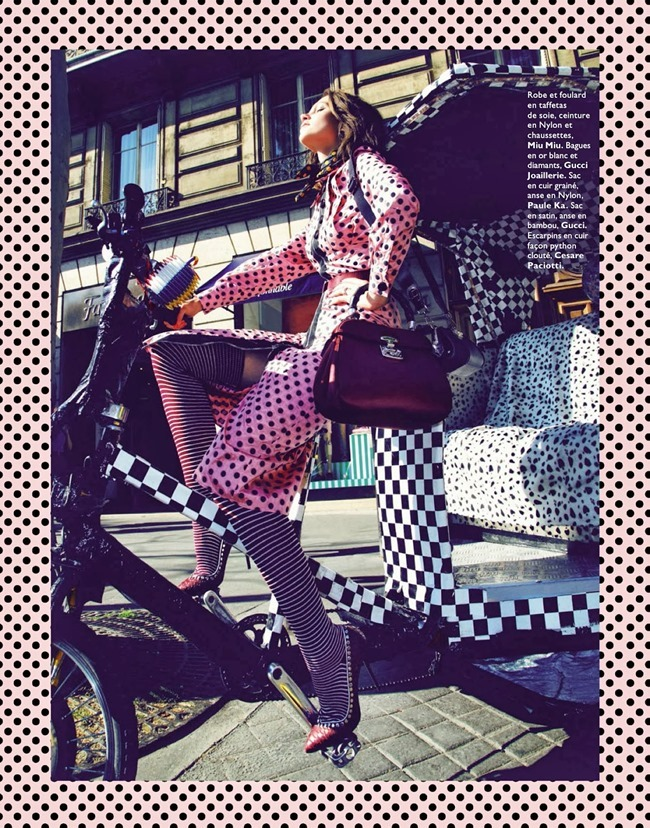 GRAZIA FRANCE- Claire Collins in Happy Flashy Funky Accessoires by Richard Bernardin. Alexandera Bernard, September 2013, www.imageamplified.com, Image Amplified (7)