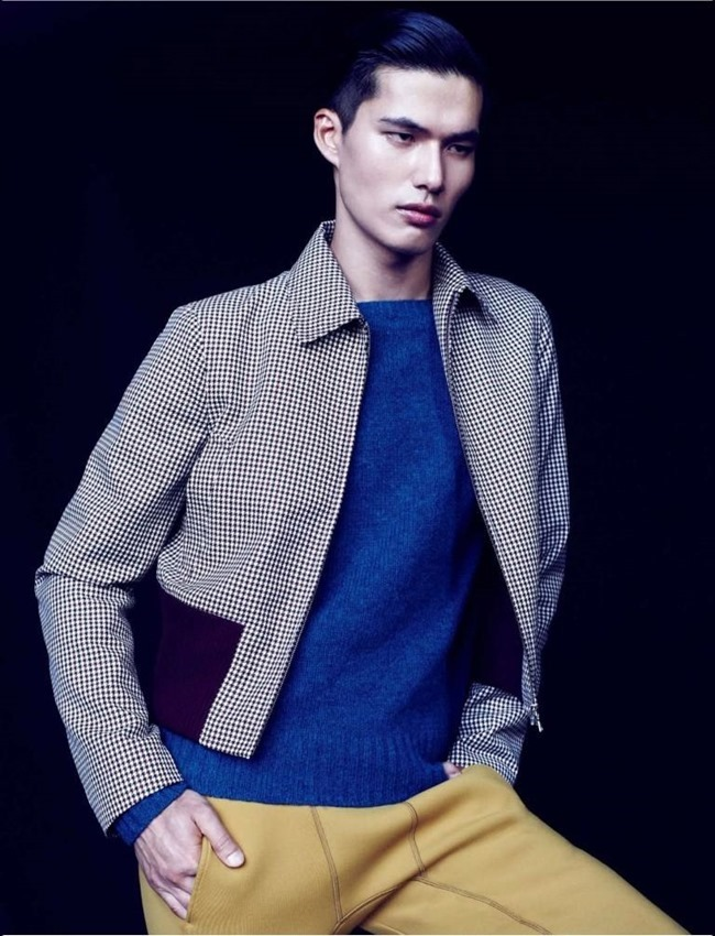 NUMERO HOMME CHINA- Dae Na by Bruno Staub. Jean Michel Clerc, Fall 2013, www.imageamplified.com, Image Amplified (9)