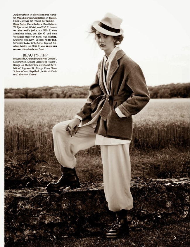 VOGUE GERMANY- Codie Young in Misia by Giampaolo Sgura. Chrisiane Arp, October 2013, www.imageamplified.com, Image Amplified